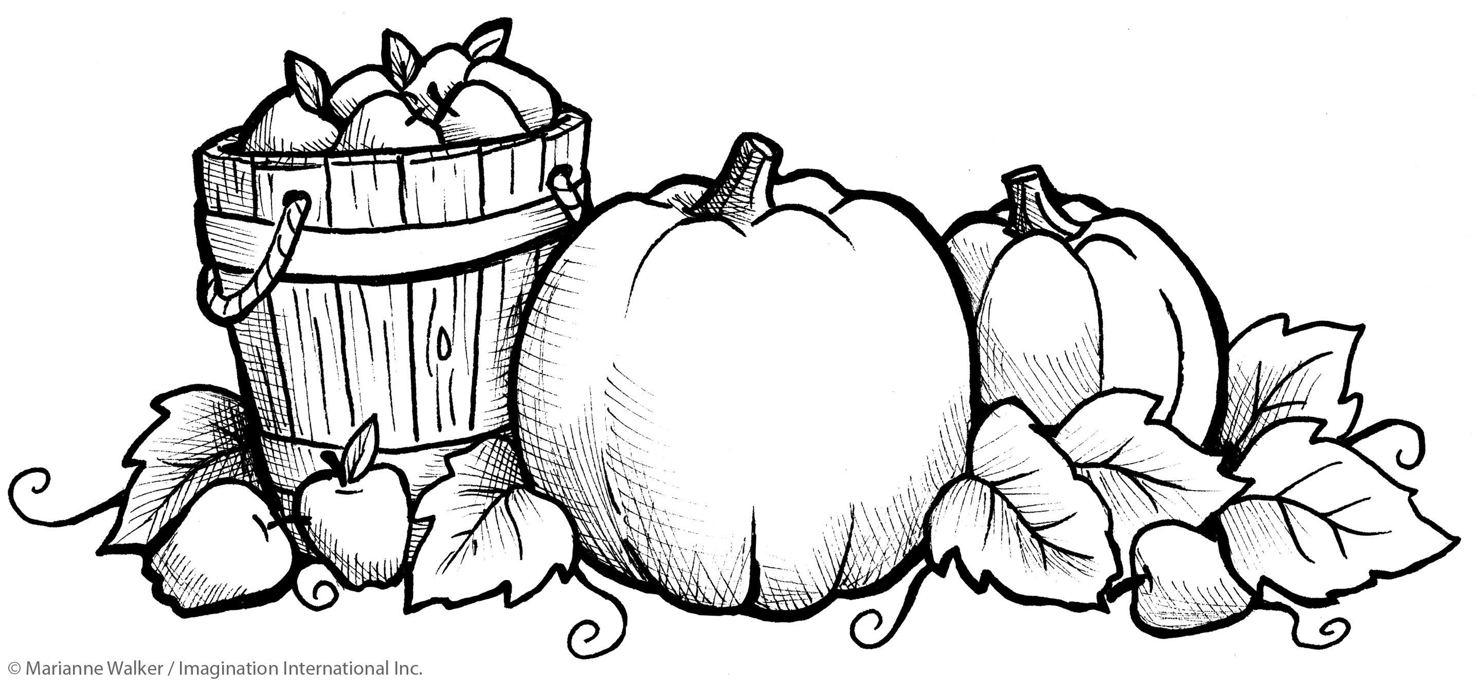 Free Printable Pumpkin Coloring Pages For Toddlers