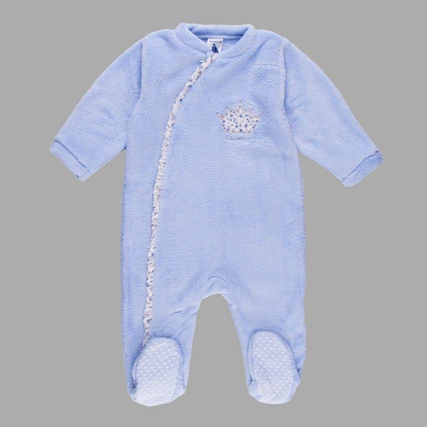 Pijama Manta Corona Babidu Ropa Pijama Bebe