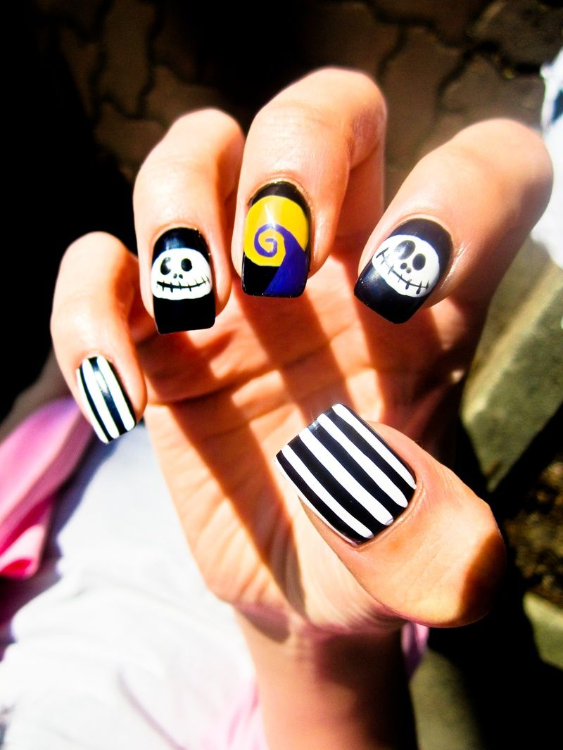 The nightmare before Christmas - Nails By Tina | Nails | Pinterest