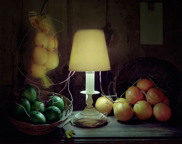 Fruit Battery Still Life