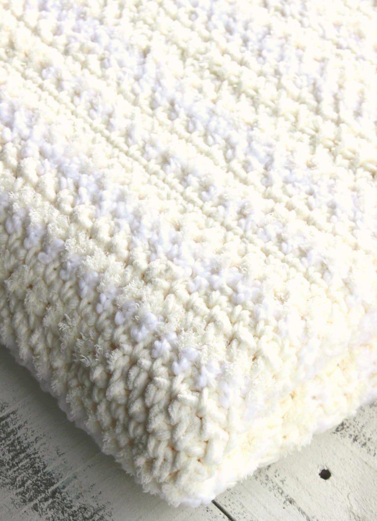 Crochet Sand Stitch Afghan   Manta