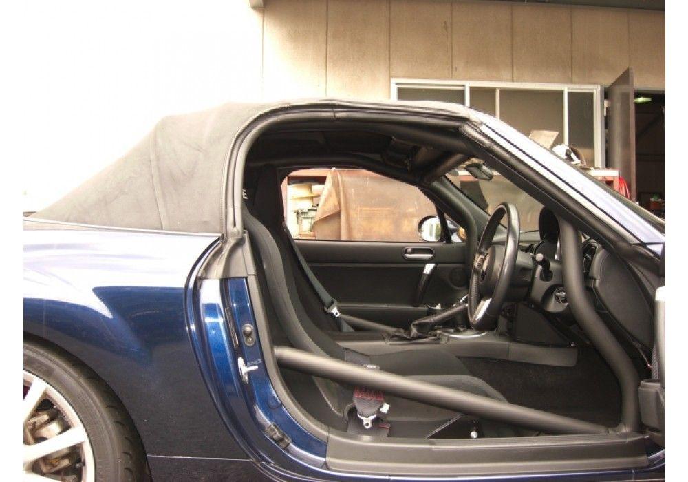 Saito NC 4-Point Roll Cage For Mazda Miata MX5 NC | REV9