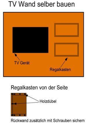 anleitung mit bauplan tv wand selber bauen fernsehwand pinterest tv wand selber bauen tv. Black Bedroom Furniture Sets. Home Design Ideas