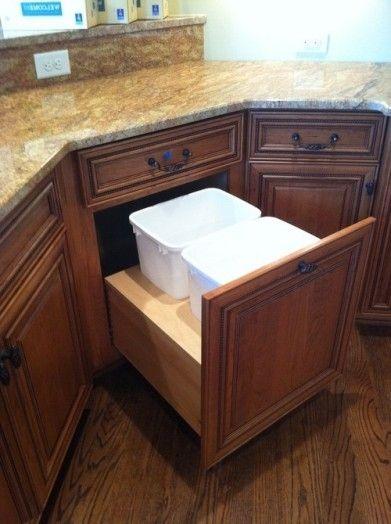 Merveilleux Corner Kitchen Cabinets Drawers Natural Wood Kitchen Cabinets By  Blstrawberry