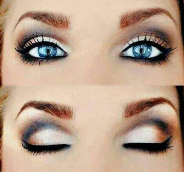 Make Up for Blue Eyes | Make Up Ideas for Photoshoots