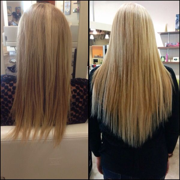 Add length thickness and color by using babe hair extensions add length thickness and color by using babe hair extensions before after pmusecretfo Image collections