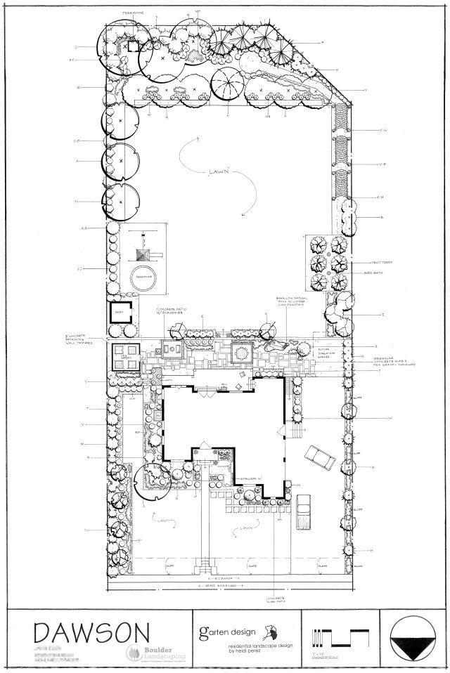 Image Result For Landscape Plan Title Block Landscape Plans Title Block Landscape Architect
