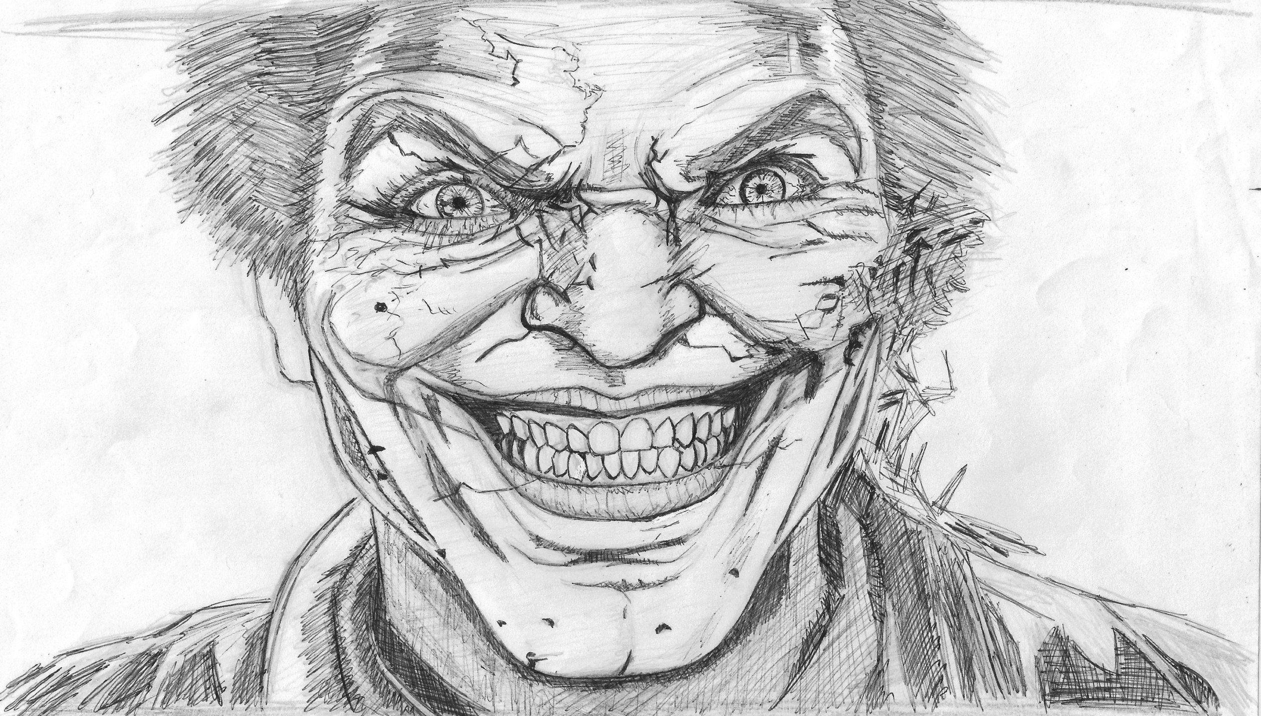 Dibujo a Lpiz 2015 The Joker