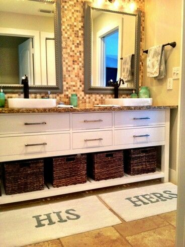 His And Hers Bathroom Bathroom Rugs