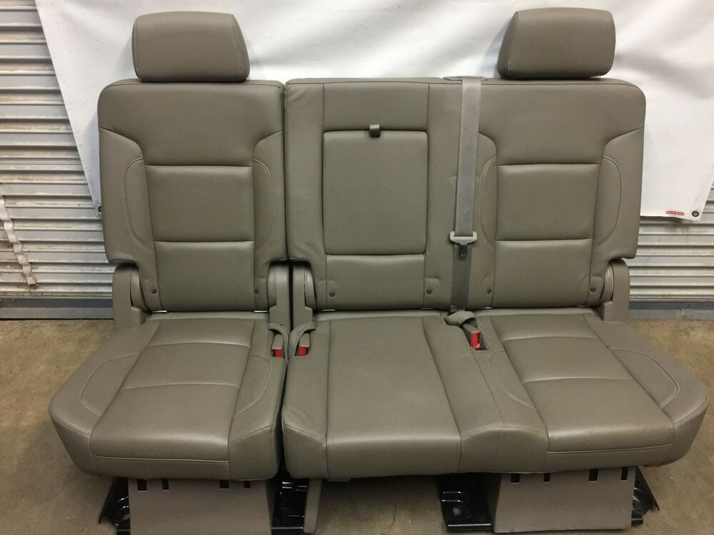 Outstanding Ad Ebay 2015 2018 Escalade Tahoe Yukon 2Nd Second Row Cocoa Dailytribune Chair Design For Home Dailytribuneorg