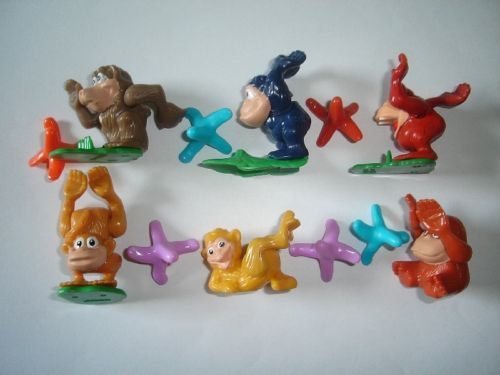 ICE AGE 3 TOYS  2009 KINDER SURPRISE FIGURES COLLECTIBLES MINIATURES