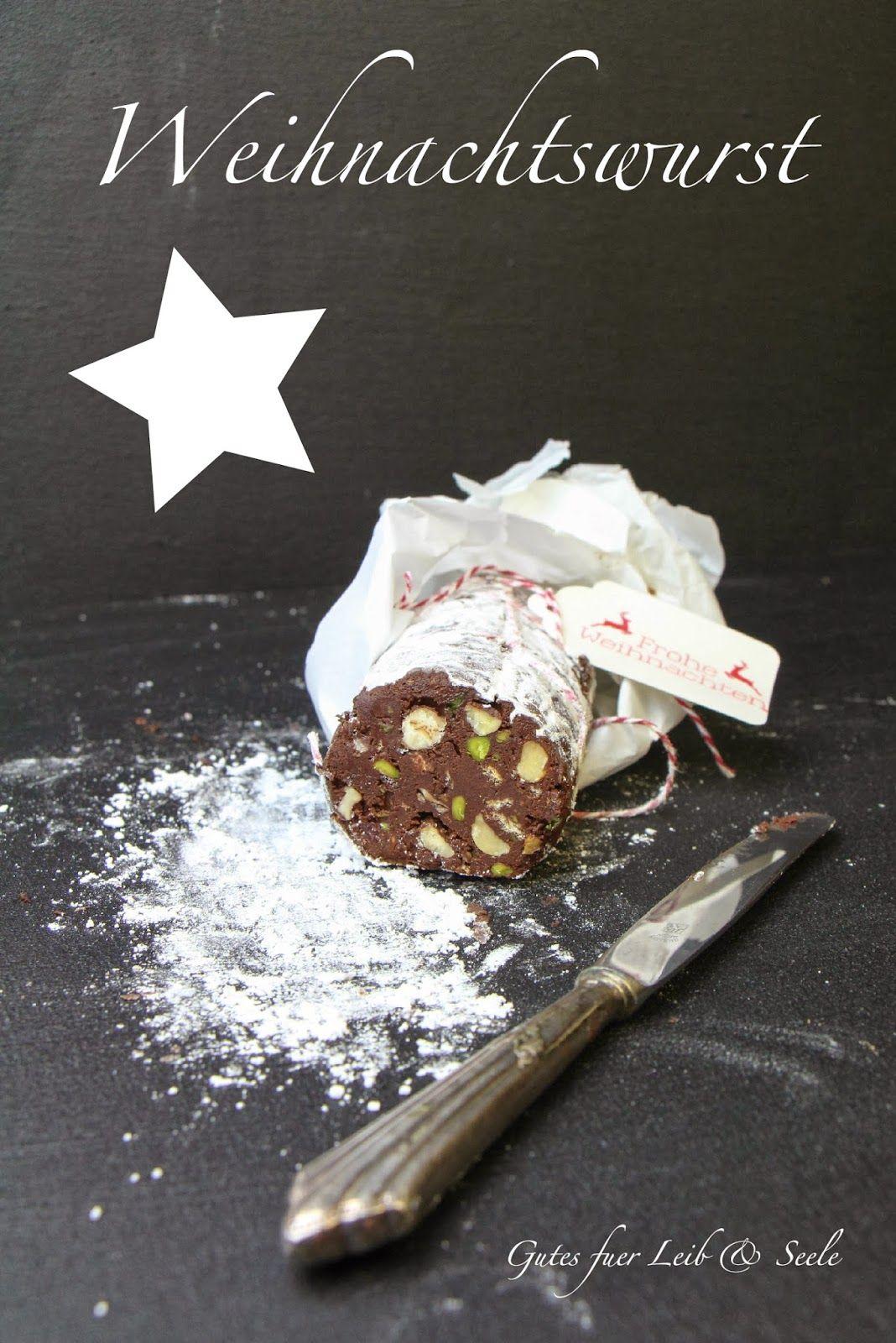 Geschenke aus der Küche: Weihnachtswurst | Geschenke aus der küche ...