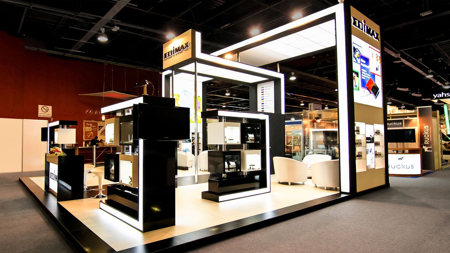 Exhibition Booth Rental Dubai : Gitex the global information technology
