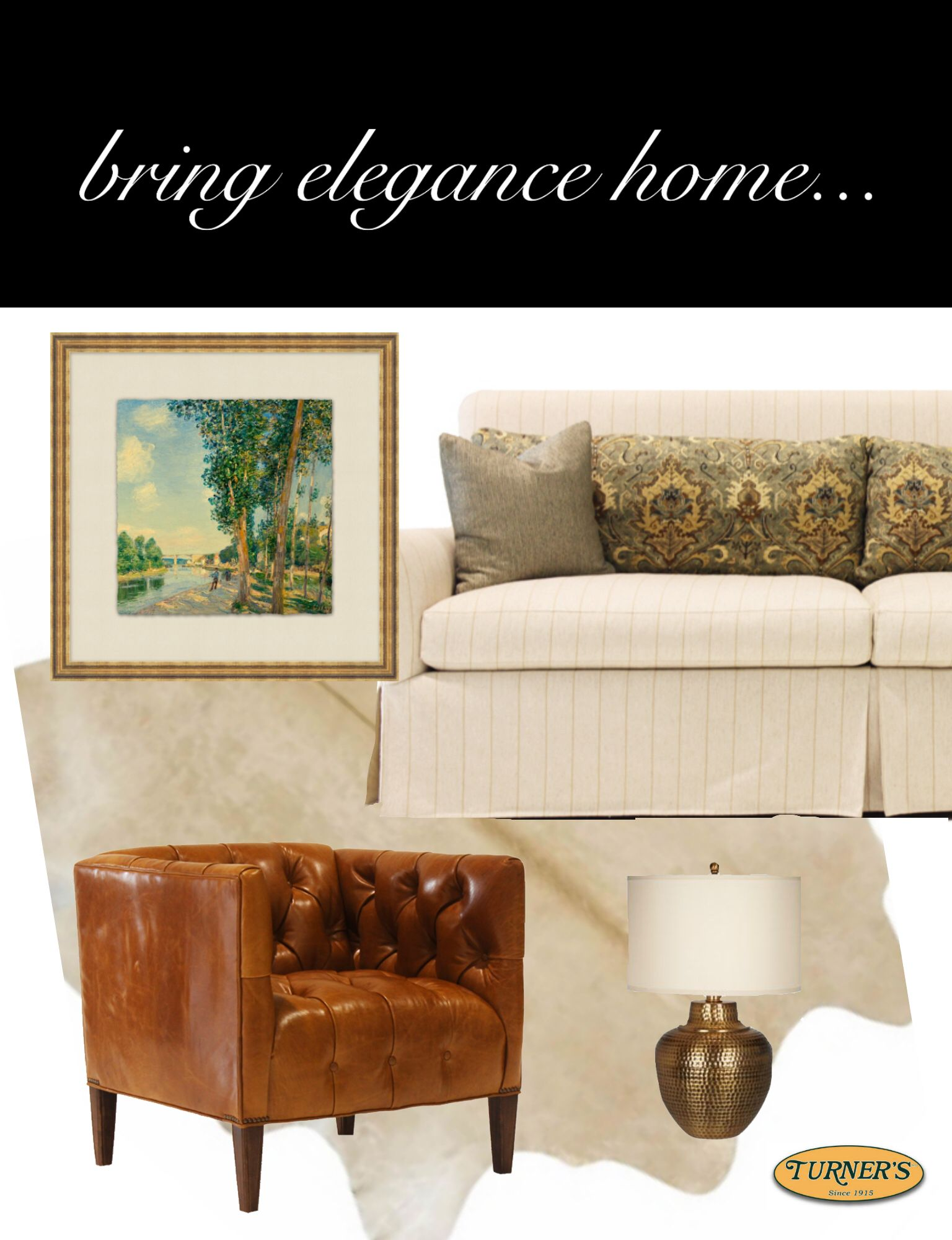Only At Turners Fine Furniture !