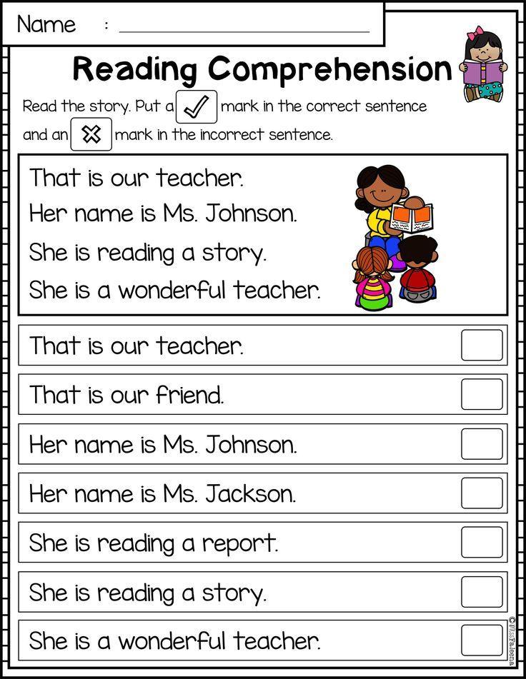 Reading Comprehension Passages Set 1 Reading Comprehension Passages Reading Comprehension Worksheets Reading Comprehension Question mark worksheets for kindergarten