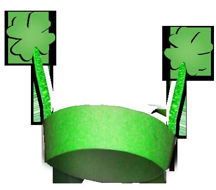 Preschool Construction Paper Crafts Clover Hat Craft Saint Patrick S Day A St Patricks Day Crafts For Kids St Patricks Crafts St Patrick Day Activities