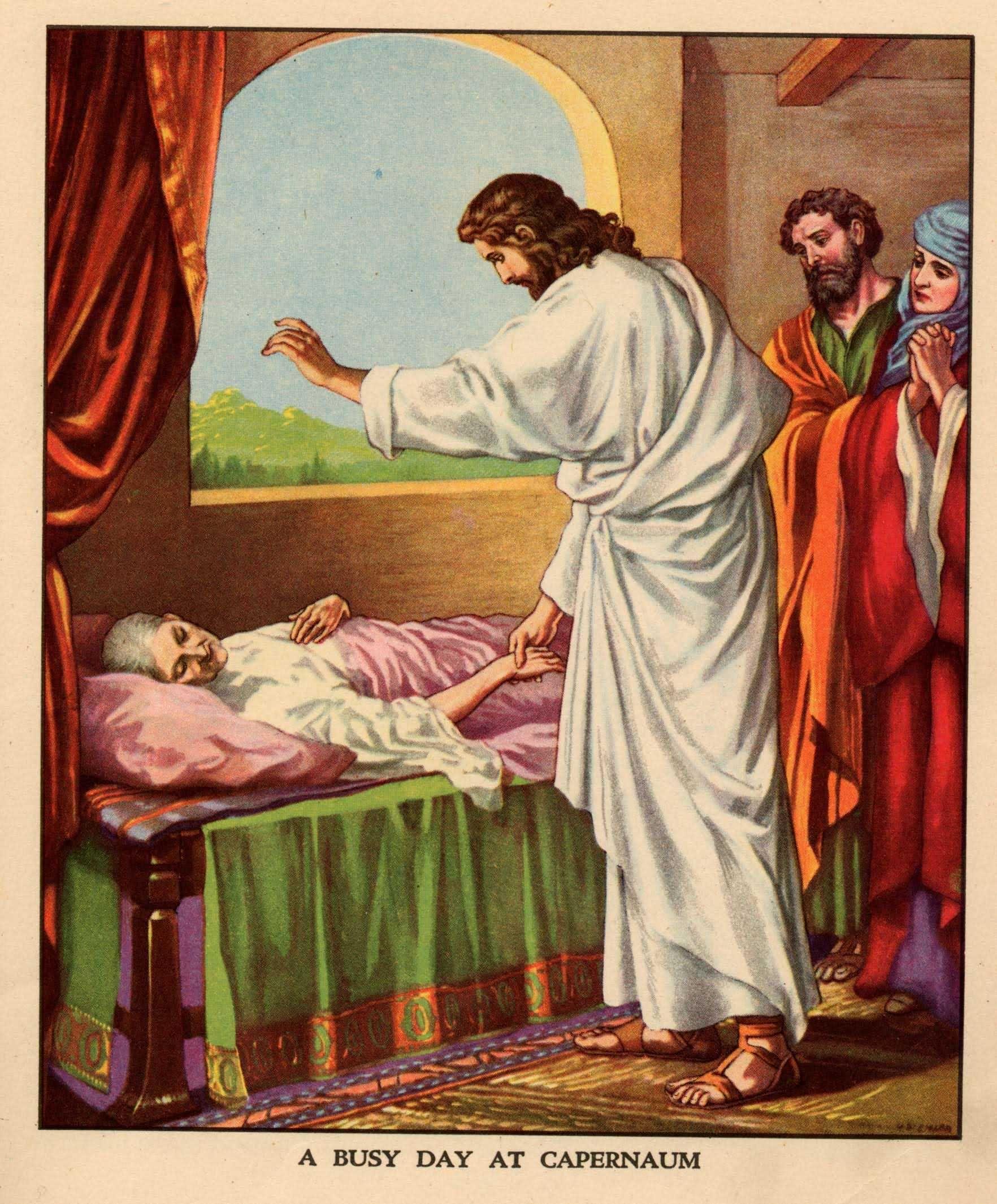 Image result for jesus in capernaum