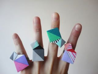 Polymer Clay geometric Jewelry Crafts   Check out the geometric polymer clay jewelry from nomilktoday on Etsy ...