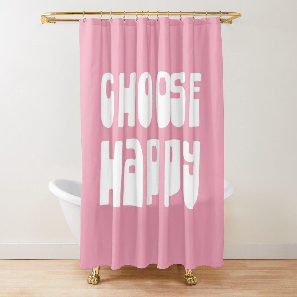 Choose Happy Inspirational Motivational Optimistic Retro