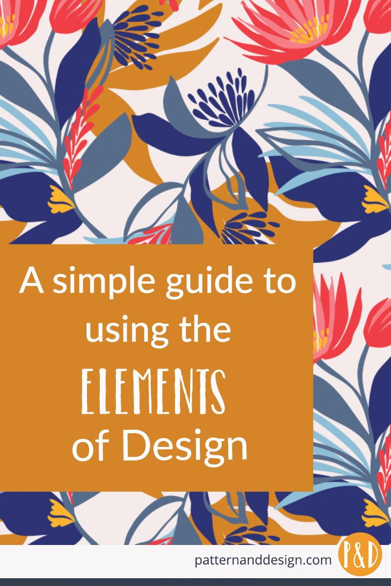 A simple guide to the elements of design.