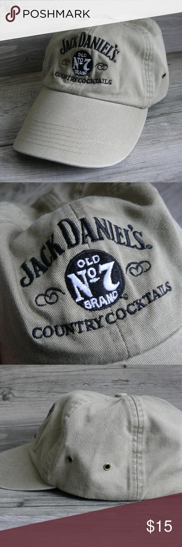 386c8624c07 Jack Daniel s Old No 7 Brand Hat Ball Cap Jack Daniel s Old No 7 Brand  Country
