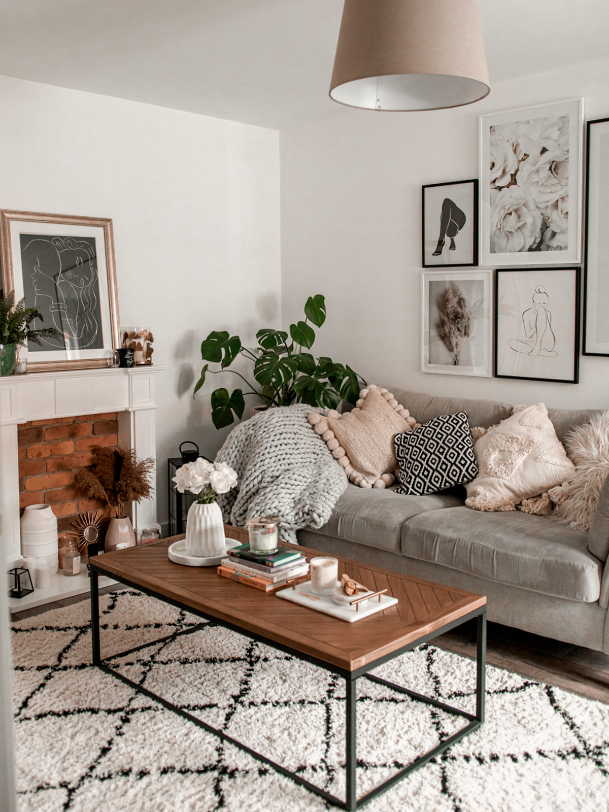 How To Create A Cosy Lounge Gemma Louise Cosy Living Room Living Room Design Small Spaces Lounge Decor