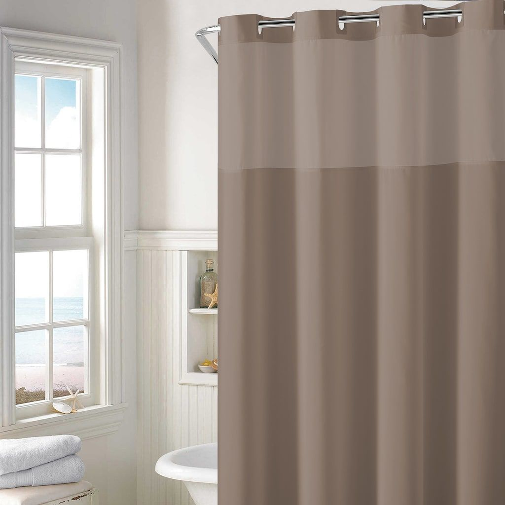 Steal Of The Day Eileen Fisher Sheer Linen Shower Curtain Curtains Pretty Shower Curtains Patterned Shower Curtain