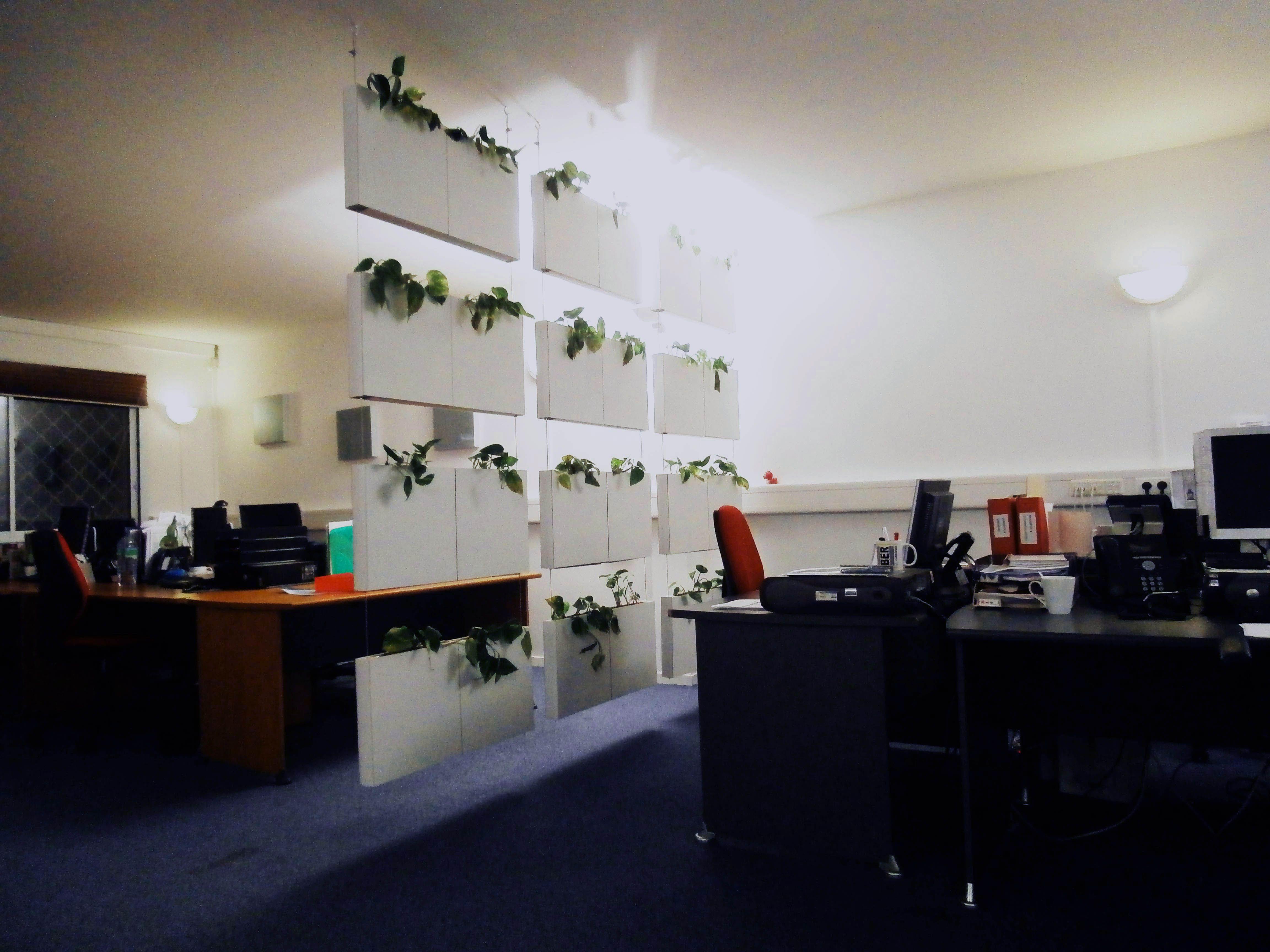 Cortina vegetal de Serastone. Una genial idea de decoración para ...