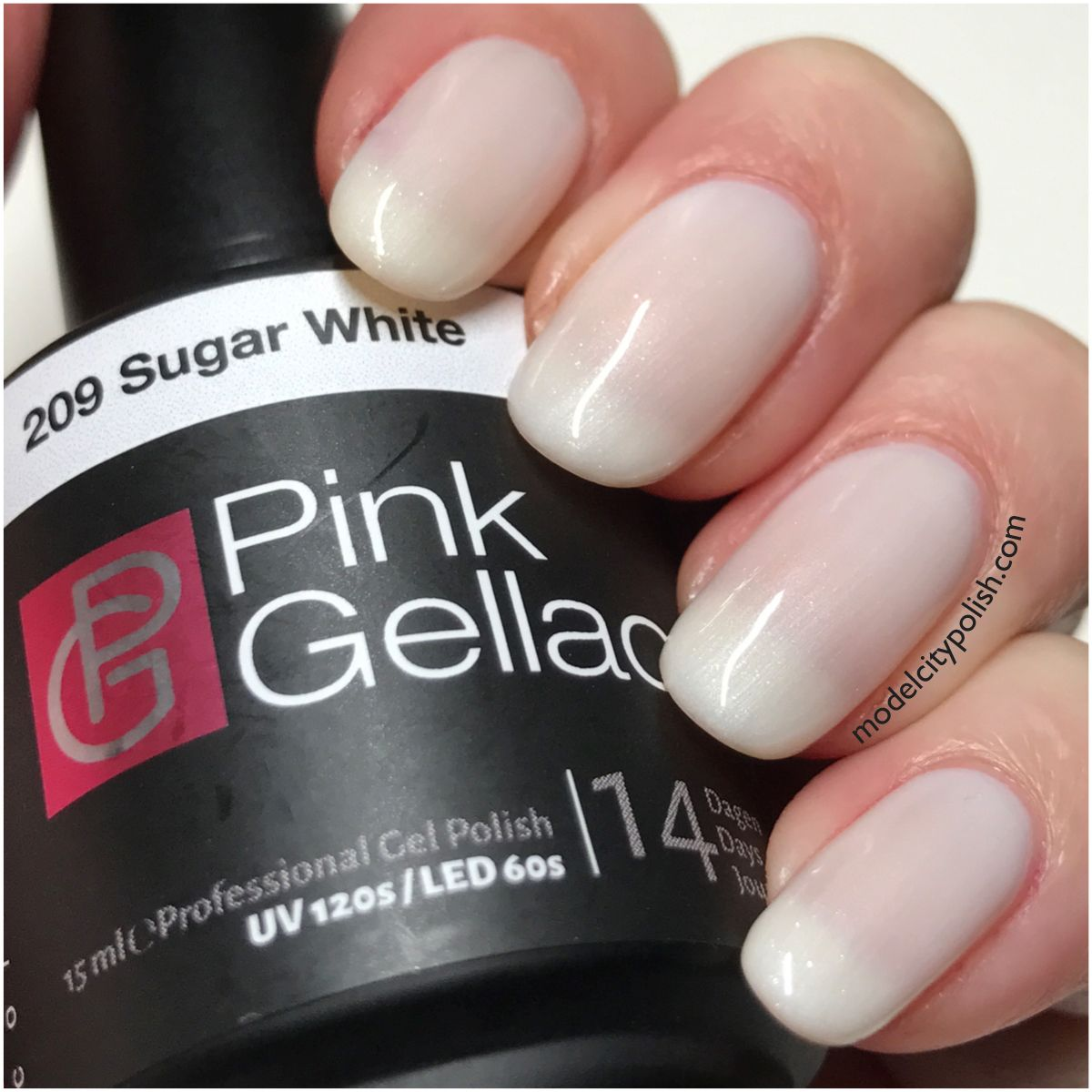 Verwonderlijk Sugar White from Candy Couture by Pink Gellac | Model City Polish PZ-23