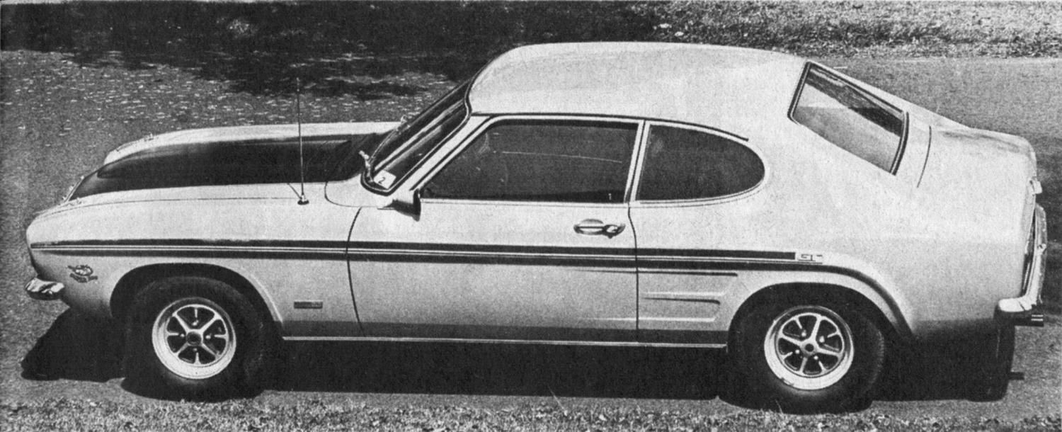 1970s Ford Capri Mk1 Photograph At Www Oldclassiccar Co Uk Ford