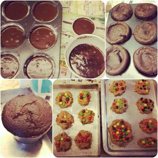 Choco Lava and Cookies #homemade