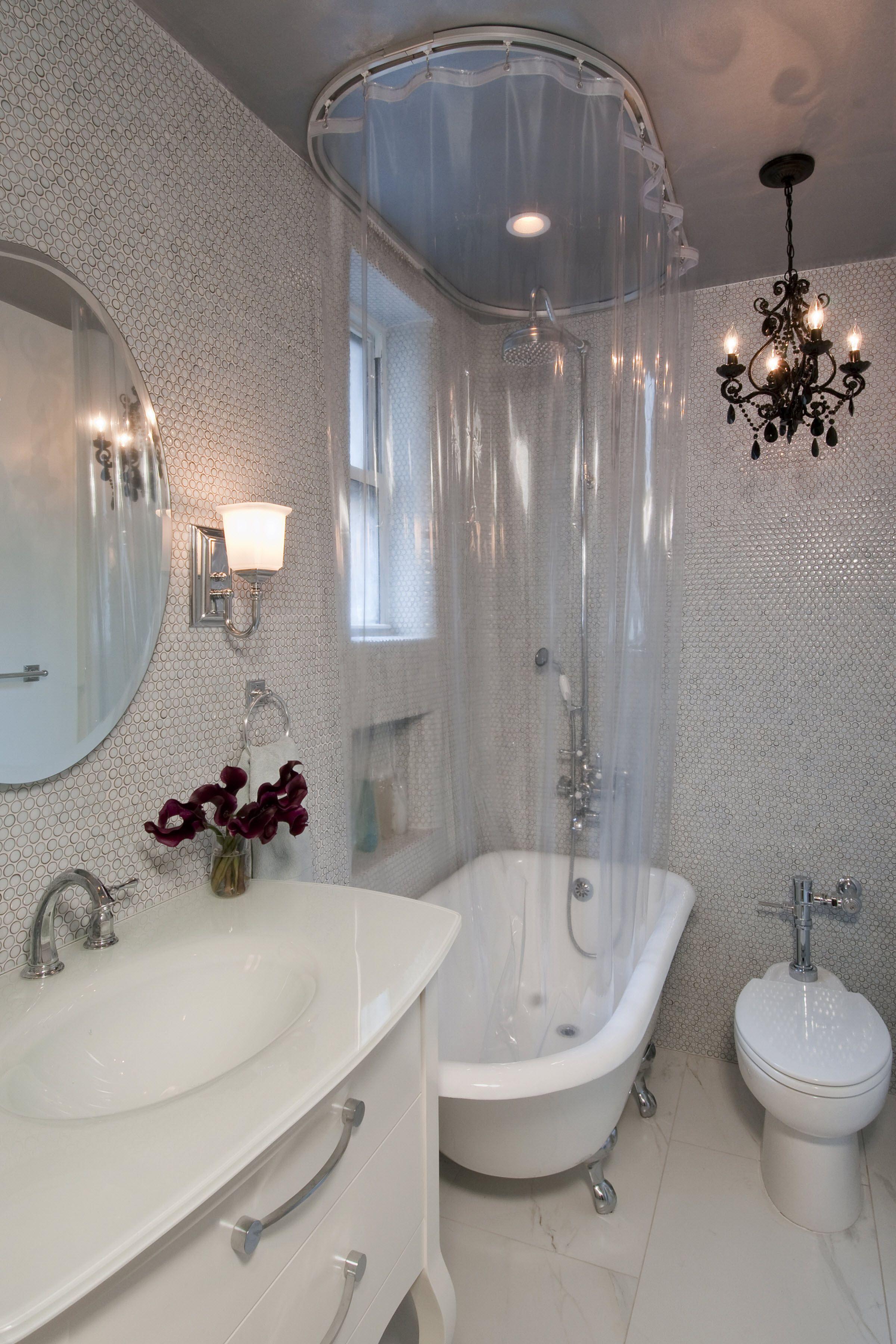 Feng Shui Bathroom Design Clawfoot Tub Shower Curtain Clawfoot