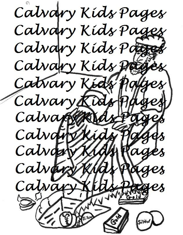 Achan Hides The Plunder Coloring Page This Coloring Page Will Help