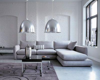 Comment se créer un salon moderne ? Colores grises, Gris y