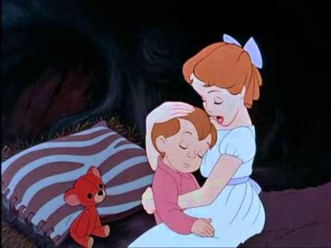 Your Mother And Mine Song Wmv Peter Pan Disney Lullabies