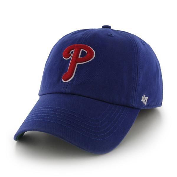 39d86edddd91e9 Philadelphia Phillies LARGE Franchise Royal 47 Brand Fitted Hat ...