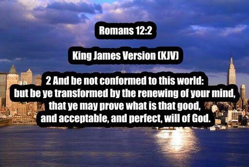 Romans 12:2 kjv
