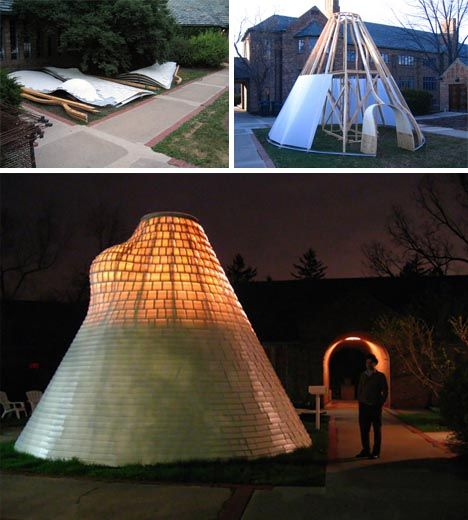 Suburban nomad hybrid Igloo Yurt Tent + Tipi home idea & Suburban nomad: hybrid Igloo Yurt Tent + Tipi home idea | Modern ...
