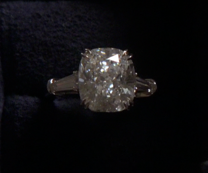 Harry Winston Engagement ring Chuck bought for Blair Wedding