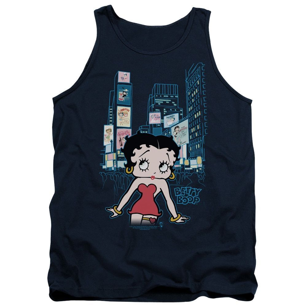 Boop/Square Adult Tank in Navy