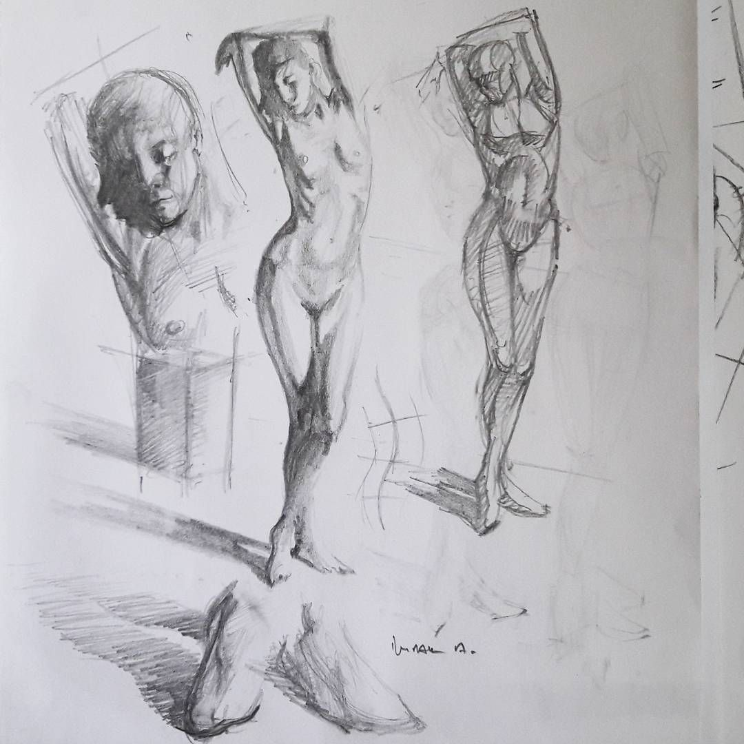 female anatomy art drawing ,dessin academic drawing sketchbook ...