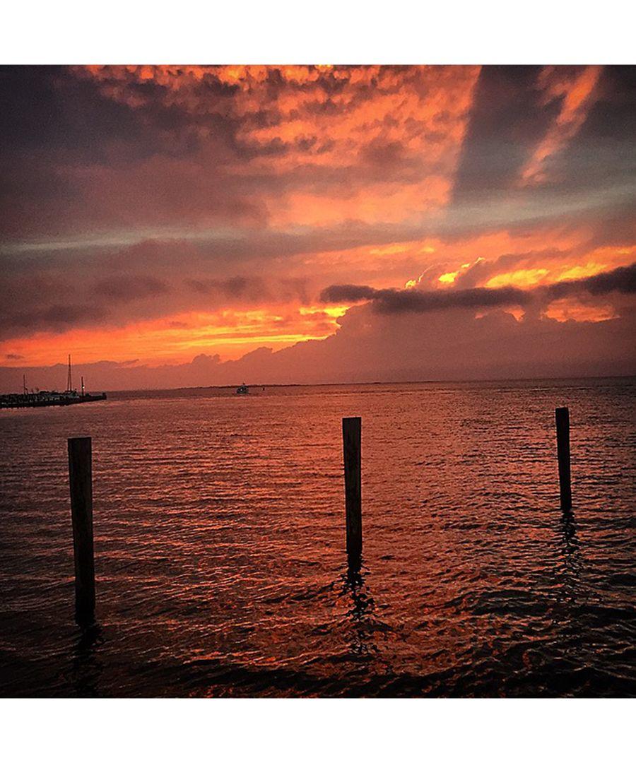 """Gotham"" star Sean Pertwee shares photos of his Fire Island family getaway."