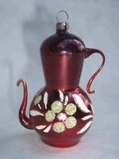 Glass Christmas Ornaments Teapot Ebay Christmas Ornaments Vintage Christmas Ornaments Vintage Christmas Toys