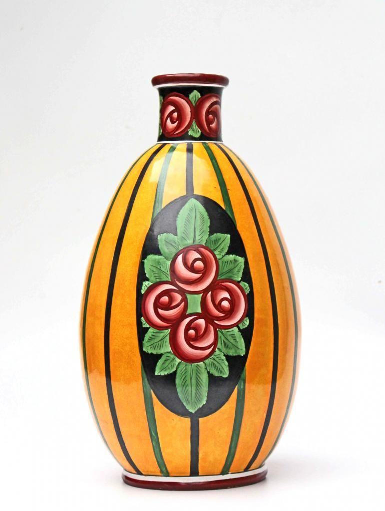 Grand vase en cramique art dco 1925 30 art dco grand vase en cramique art dco 1925 30 floridaeventfo Image collections