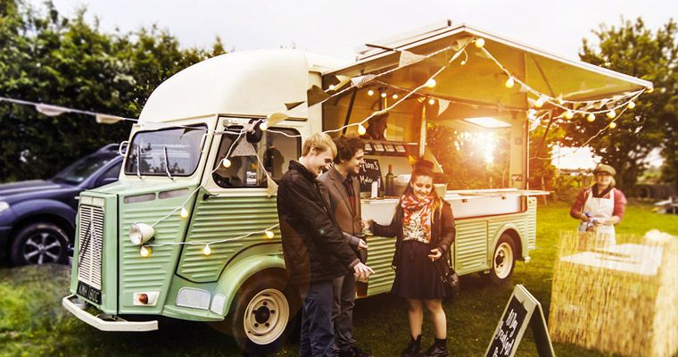 food truck mariage location soiree cocktail camion