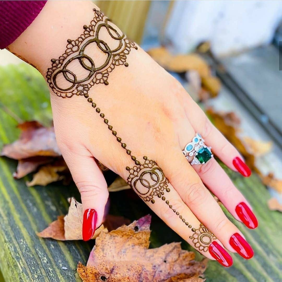 42 Trendy Henna Tattoo Design Ideas To Try In 2020 Henna Designs Easy Henna Tattoo Designs Simple Mehndi Designs For Fingers