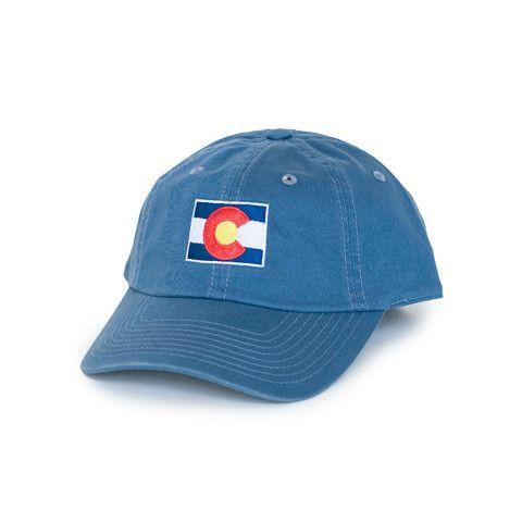 Colorado Traditional Hat Gulf Blue