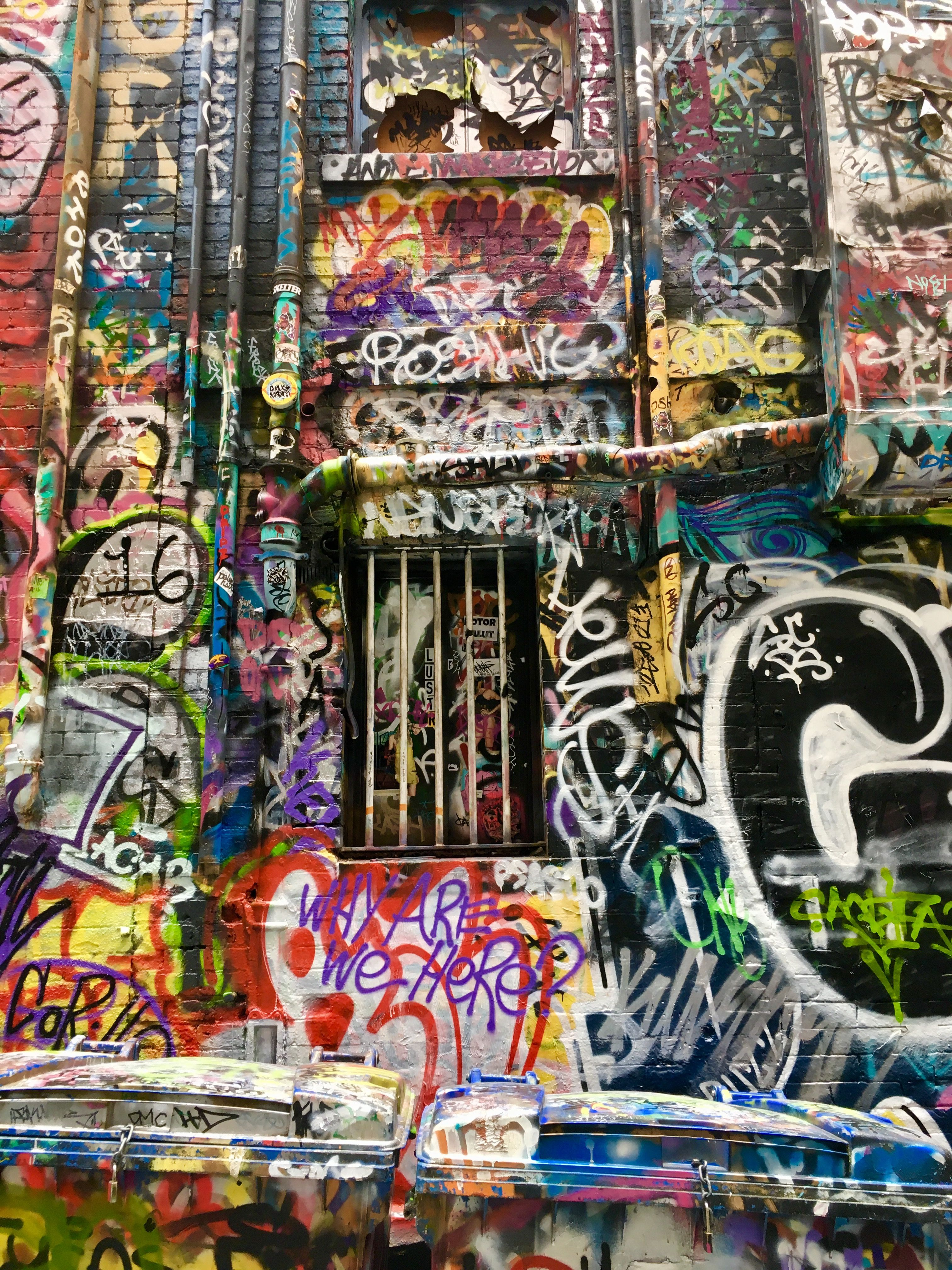Hosier Lane Melbourne Graffiti Art Graffiti Murals