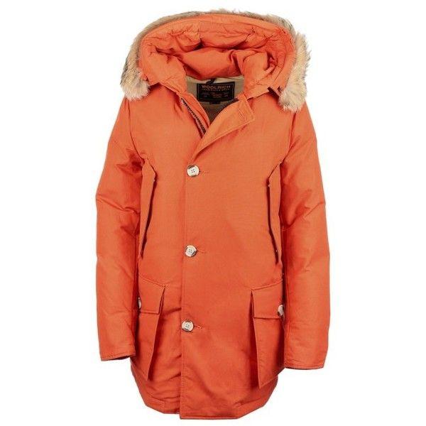 Woolrich Orange Coat