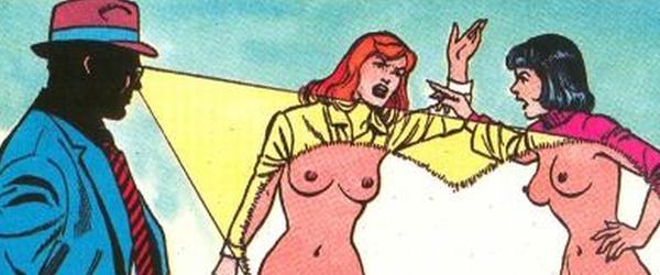 Секс супергероев dc